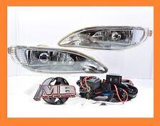 2005-2008 Toyota Corolla Bumper Fog Lights Clear Lens Front Lamps FULL KIT SET