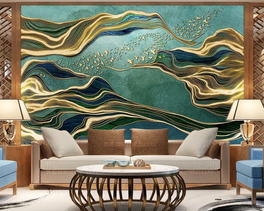 3D Abstrakte Malerei H3177 Tapete Wandbild Selbstklebend Abnehmbare Aufkleber We
