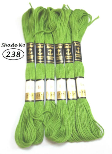 Anchor stranded Cotton embroidery thread Floss *Assorted colors chose your one*