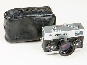 Rollei 35 S  silber mit 2,8/40mm Sonnar  Singapore  kleine Delle