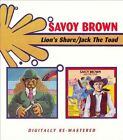 Lion's Share/Jack the Toad by Savoy Brown (CD, Nov-2006, 2 Discs, Beat Goes On)