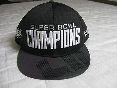 544f32290 Philadelphia Eagles New Era NFL Super Bowl LII Champ Parade 9FIFTY Snapback  Cap | eBay