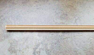 3 PIECES of 1//12 Scale Decorative Wood Trim Molding for your Dollhouse #S7019
