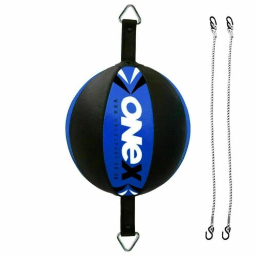 New OneX Brand Double End Dodge Speed Ball MMA Boxing Floor to Ceiling Punch Bag