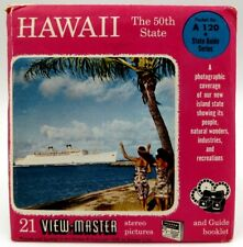 1959 Sawyers Hawaii The 50th State Viewmaster reel A120