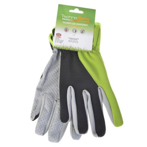 Gartenhandschuhe Technosafe kurz grün//grau//schwarz Größe 10