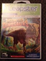 Leapster Digging For Dinosaurs Game