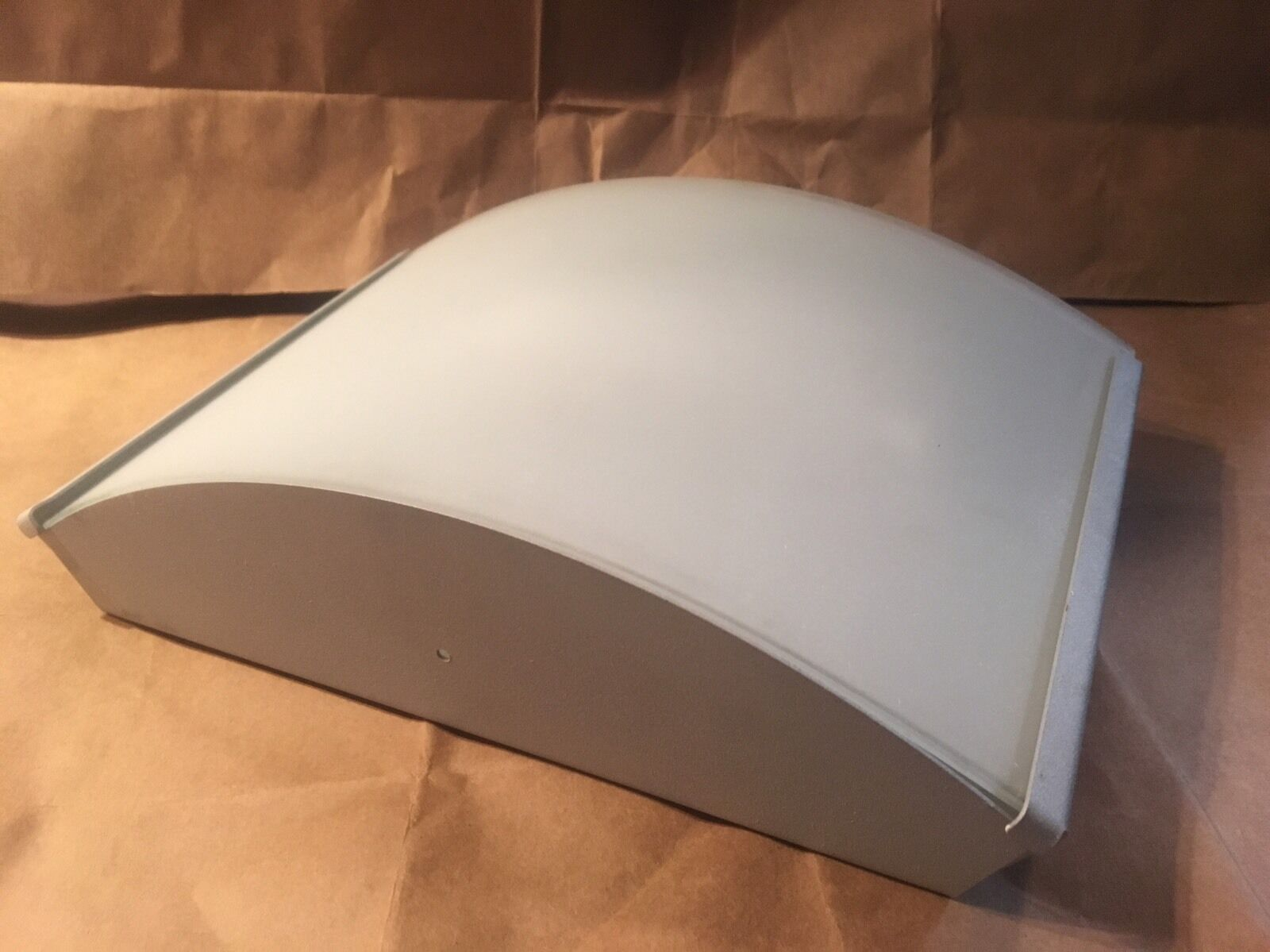 Zaneen TRILLIUM 3008 Wall Ceiling Flush Mount Light in Sanded Aluminum ITALY