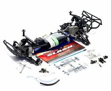 TRAXXAS SLASH 1/10 NITRO Roller transmission shocks full chassis no electronics
