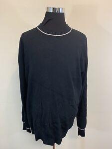 3d541a2ac0473a Nike Air Jordan Mens 3XL XXXL Black Crew Neck Jumpman Sweater