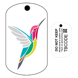 Pour Geocaching-traçable Tag Harry the Hummingbird Travel Bug