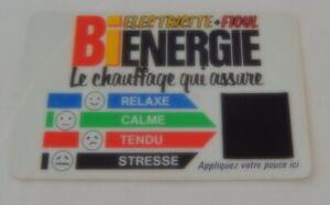 Responsable Ancienne Carte Test Stresse Par Bienergie Le Chauffage Qui Assure - Centre Edf