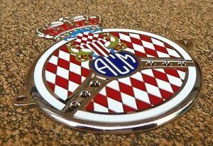 Automobile Club Monaco Car Grille Badge-acm-afficher Le Titre D'origine Des Performances InéGales