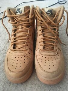 huge selection of d3fb5 94b5a Details about Women's Wheaties Nike Air Force 1 HIgh SZ 6.5 Only worn twice!