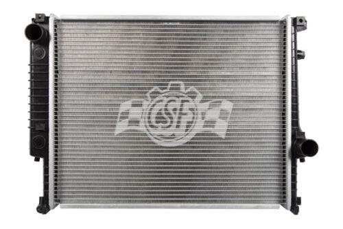 Radiator-1 Row Plastic Tank Aluminum Core CSF 2526