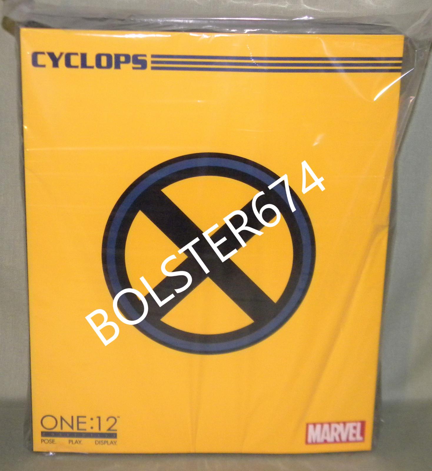 CYCLOPS SCOTT SUMMER One 12 Collective azione cifra MEZCO giocattoloZ Marvel Xessi