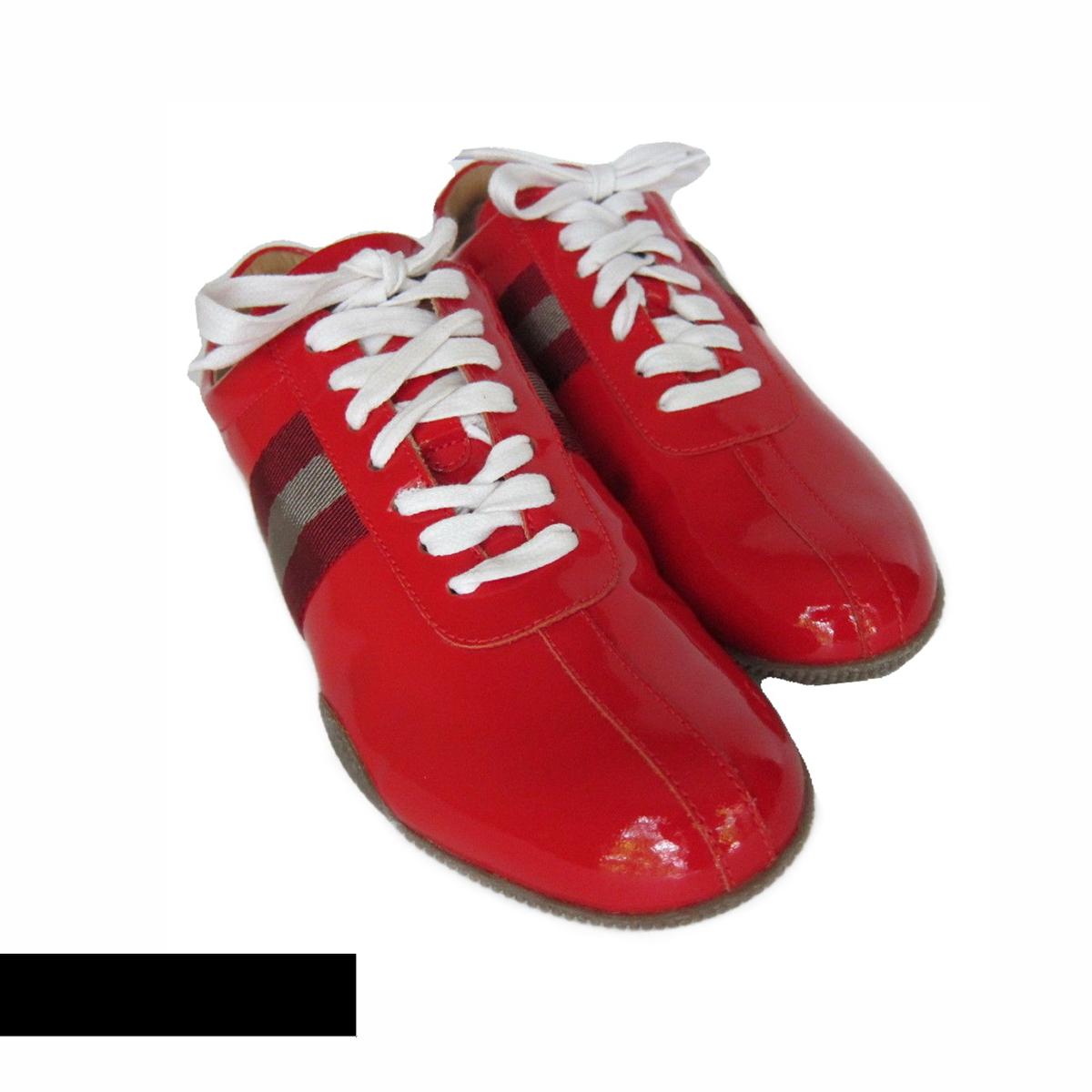 S-2275976 nuevo Bally Rojo Charol Tenis Zapatos Talla Talla Talla EE. UU. 8M  venta con descuento