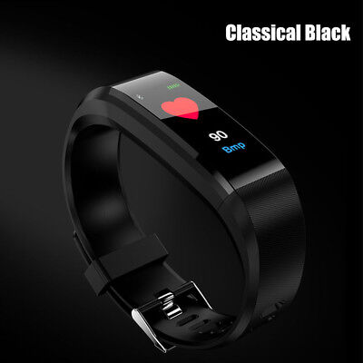 Fitness Tracker Sports Smart Watch Wristband Blood Pressure/Heart Rate Bracelet