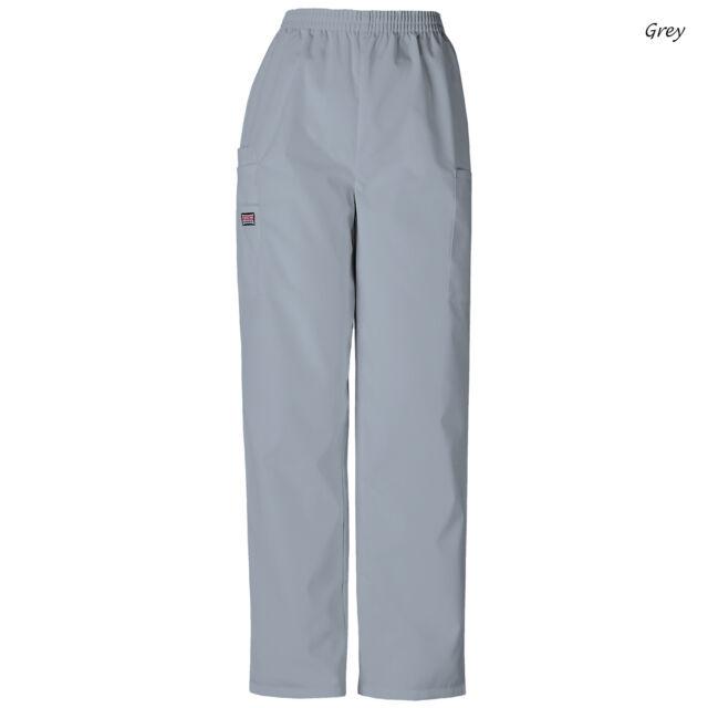 d15efb29423 Cherokee Workwear Women's 4200 Pull-on Cargo Scrub Pant Medium ...