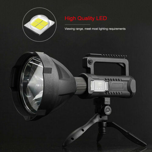 Most Powerful XHP50 LED Torch 350000LM Work Light Spotlight Searchlight 4 Modes