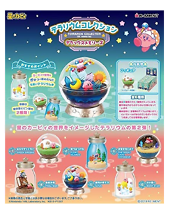 Kirby Super Star Terrarium Collection PUPUPU Seasons All 6 set Japan import NEW