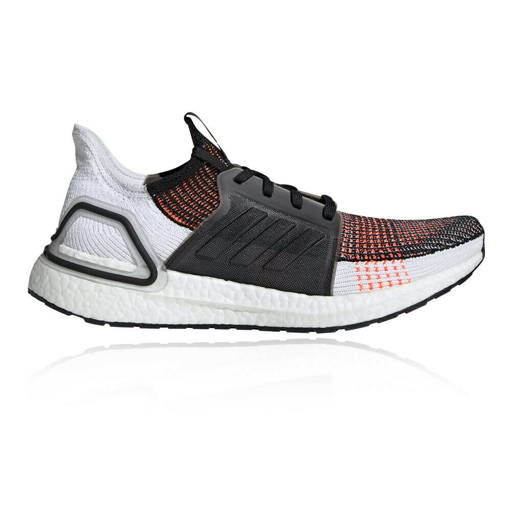 Adidas mannens UltraBOEST 19 hardlopen schoenen Trainers sportschoenen --zwart oranje wit