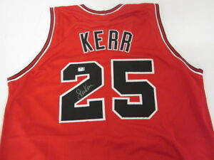 0b33a734e Image is loading Steve-Kerr-Signed-Chicago-Bulls-Jersey-3xWorld-Champion-