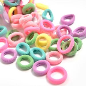 100Pcs-Women-Girl-Hair-Band-Ties-Rope-Ring-Elastic-Hairband-Ponytail-Holder-Well