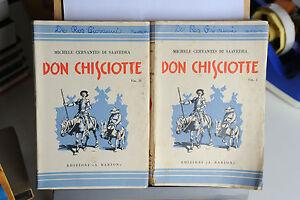 1938-MICHELE-CERVANTES-DI-SAAVEDRA-DON-CHISCIOTTE-IN-DUE-VOLUMI
