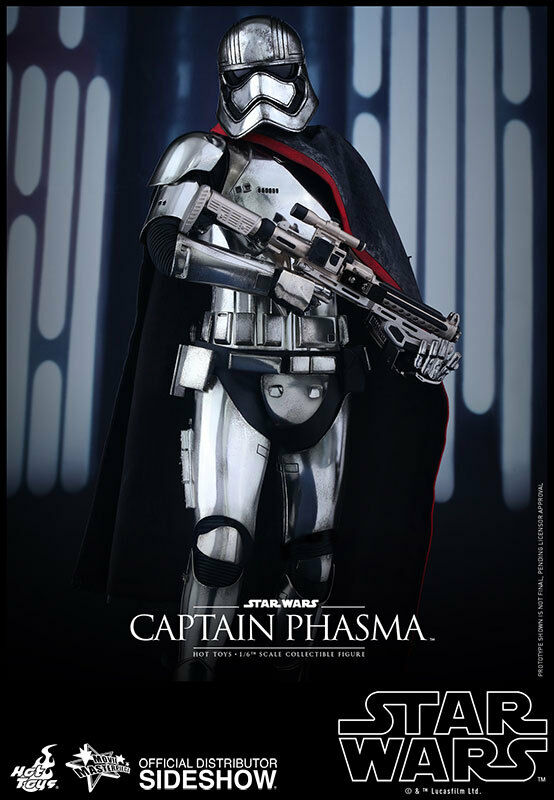 1/6 Star Wars Captain Phasma Movie Masterpiece Series Hot Toys 902582