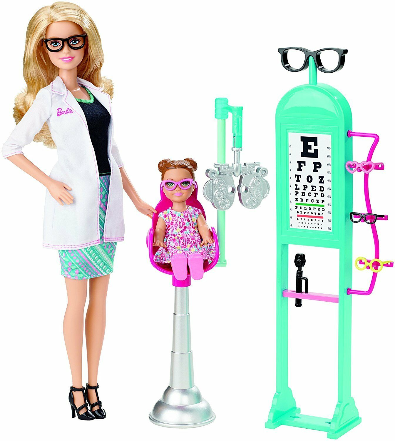 Barbie Careers Eye Doctor Playset
