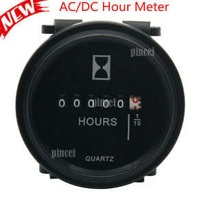 2-039-039-Round-Quartz-Hour-Meter-AC-DC-6-80V-Gauge-for-Boat-Car-Tractor-Engine