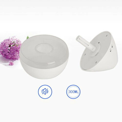 300ML LED Aroma Oil Diffuser Air Fresh Purifier Ultrasonic Mist Humidifier Relax