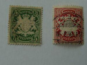 Briefmarken Bayern 5 20 Pfennig - 83253 Rimsting, Deutschland - Briefmarken Bayern 5 20 Pfennig - 83253 Rimsting, Deutschland