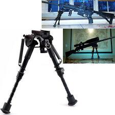 """Hunting Rifle Bipod 6"""" 9"""" Adjustable Spring Return Sniper Sling Swivel Mount Go6"""