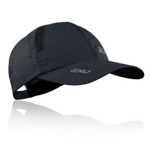2xu Unisexe Run Cap Noir Sport Running Respirant-afficher Le Titre D'origine Faire Sentir à La Facilité Et éNergique