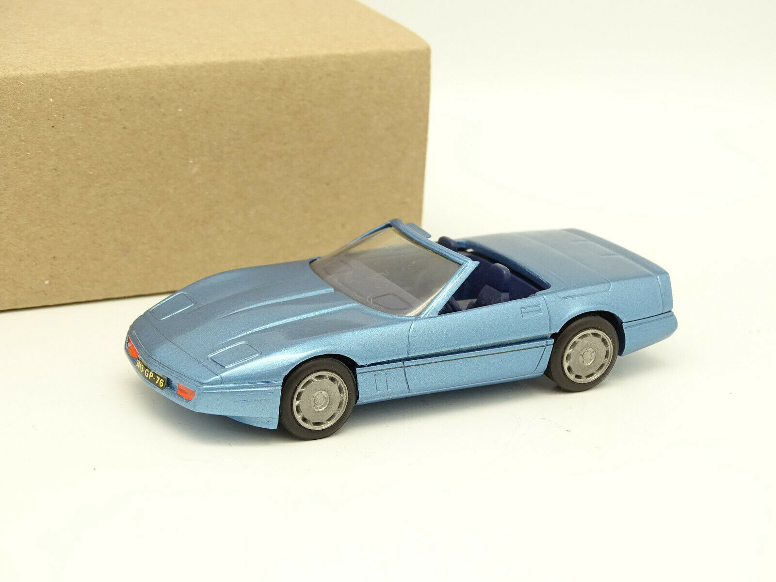 Century M. 65533;Dråp65533; tal 1 43 - Chevrolet Corvette 1986 Cabriolet blåe