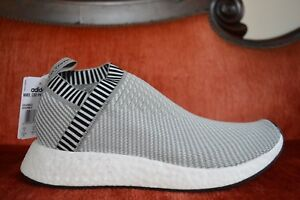 Details about BNIB ADIDAS ORIGINAL NMD CS2 PK BOOST DARK SOLID GREY & WHITE BA7187 Size 12.5