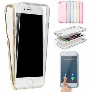 360-Shockproof-Silicone-Protective-Clear-Case-Cover-For-Apple-Phone-5S-SE-6-6s