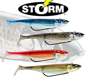STORM-360GT-COASTAL-BISCAY-Shad-Weedless-Lures-Bass-Fishing-Searchbait-All-Sizes