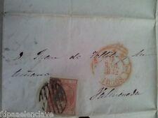 BALMASEDA BIZKAIA Carta Misiva 1832 antigua costumbrista historica siglo XlX