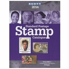 2014 Scott Standard Postage Stamp Catalogue Volume 5: Countries of the-ExLibrary
