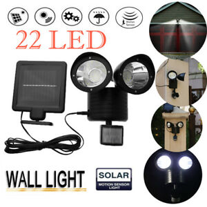 Dual-Head-Security-Floodlight-22-LED-Outdoor-Solar-Power-Lamp-PIR-Motion-Sensor