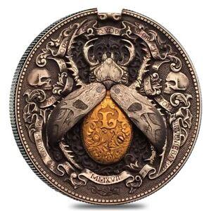 Roman Booteen's Gold Bug w/ Morgan Dollar