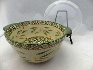 Temp-Tations-by-Tara-Old-World-Green-Medium-round-Casserole-Baker-1-5-QT