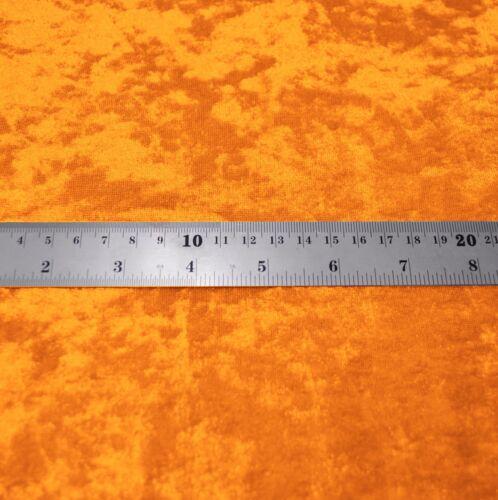 Mv100g Orange Diamond Crushed Shimmer Velvet Bolster Cover Neck Roll Yoga Case