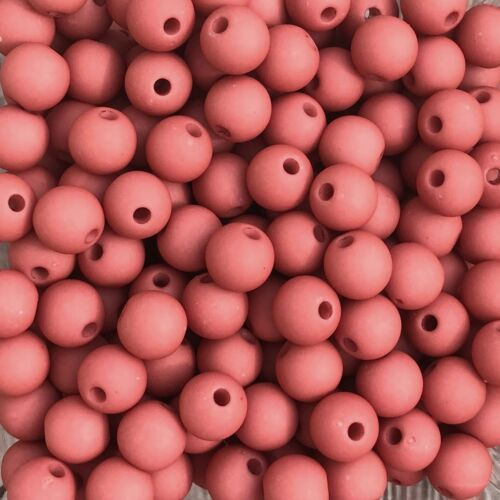 33567 Terra-red 50 trozo Ø 8 mm Acrílico perlas