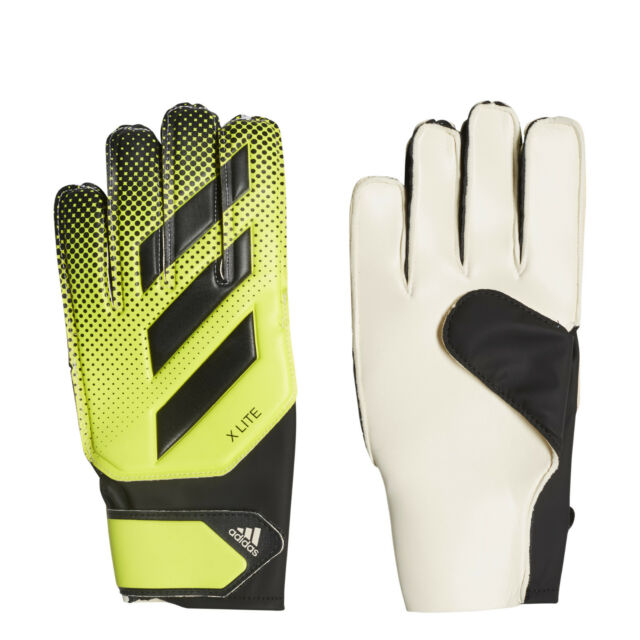 198d8cf54 Adidas Football Gloves Goalkeeper X Lite Young Pro Logo Soccer Keeper  CW5612 New