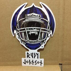 Blind rudy johnson jock skull skateboard sticker 5