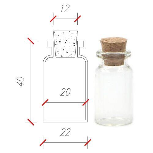 Small Glass BottlesMiniature BottlePotion BottleMini Glass VialsVial